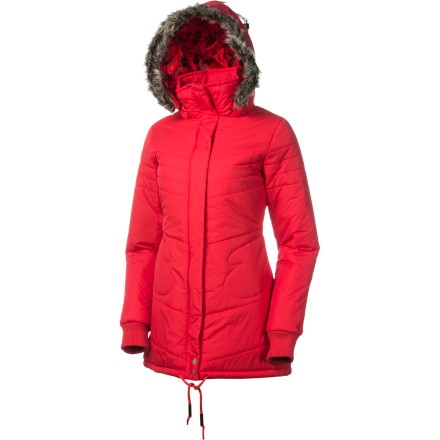 Volcom Hot Mitts Long Puffer Jacket - Women's