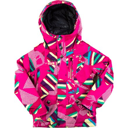 Volcom Penny Insulated Snowboard Jacket - Little Girls'