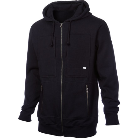 Volcom Station Waffle Lined Full-Zip Hoodie - Men's