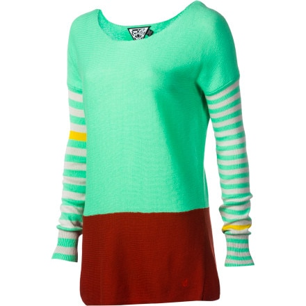 Volcom Peace Of Mind Boatneck Sweater - Women's