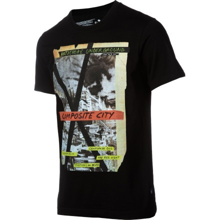 Volcom Jonah Freeman/Justin Lowe Composite City FA T-Shirt - Short-Sleeve - Men's