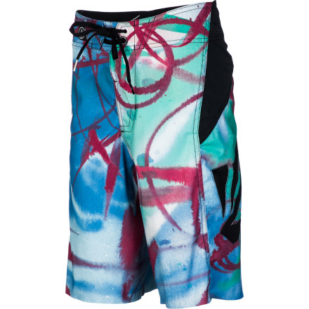 Volcom Annihilator Paintwash Board Short - Boys'