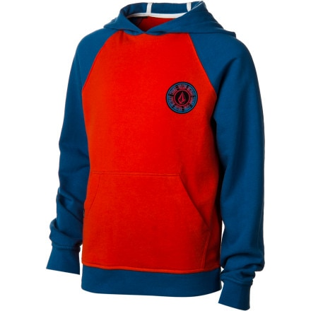 Volcom Band Fleece Pullover Hoodie - Boys'