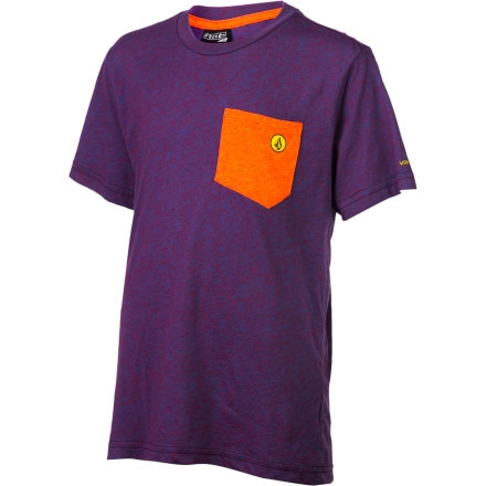 Volcom Dangerous Particle Pocket T-Shirt - Short-Sleeve - Boys'
