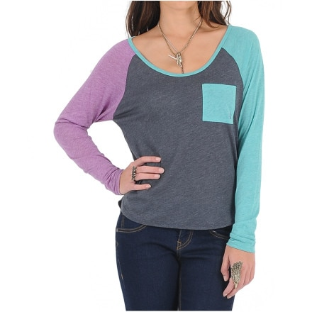 Volcom Pocket Blocket T-Shirt - Long-Sleeve - Women's
