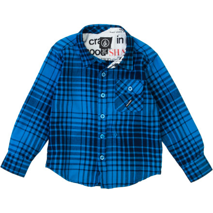 Volcom Donner Shirt - Long-Sleeve - Boys'