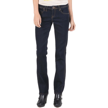 Volcom Static Straight Denim Pant - Women's