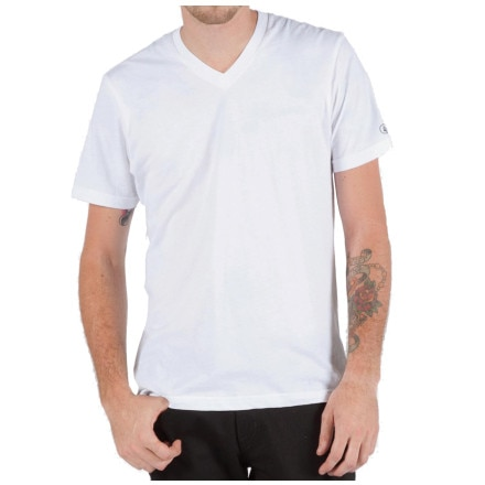 Volcom V-Neck Under Slim T-Shirt - Short-Sleeve - Men's