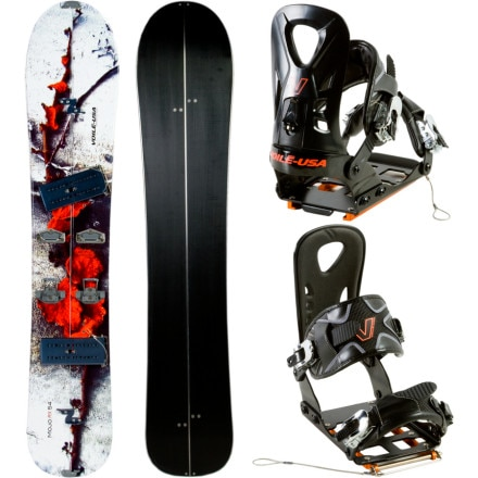 Voile Mojo RX Splitboard/Light Rail Package