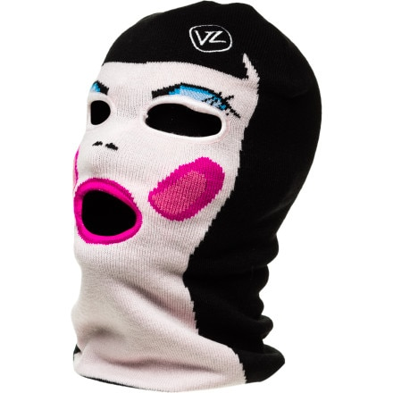 VonZipper Doll Face Facemask