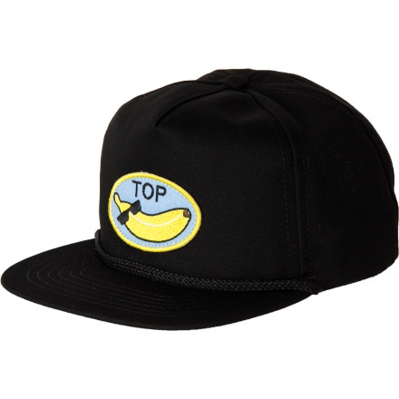 VonZipper Top Banana Snapback Hat