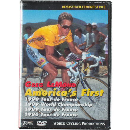 WCP Greg Lemond 4-Pack DVD
