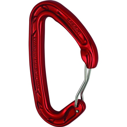 Wild Country Helium Wire Red Carabiner - 5 Pack