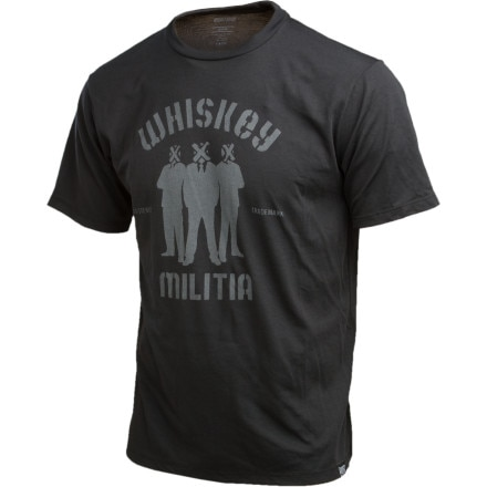 Whiskey Militia Crate Crew T-Shirt - Short-Sleeve - Men's
