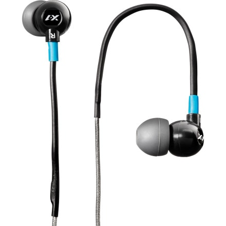 X-1 Audio Angled In-Ear Headphones