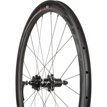 Zipp 303 Firecrest Carbon Clincher Disc Brake Road Wheel