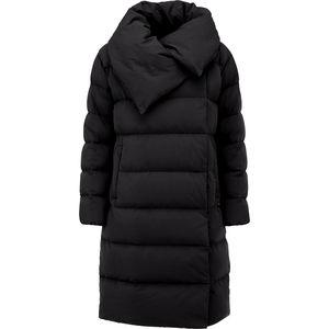 ADD Down Long Wrap Collar Coat - Women's Cheap