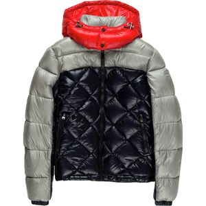 ADD Colorblock Down Jacket  with Removable Hood - Boys'