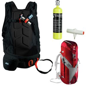 ABS Avalanche Rescue Devices ABS Vario - Complete Airbag Package