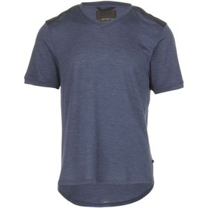 Alchemy Equipment 150GSM Single Jersey Merino V-Neck Crew - Short-Sleeve - Men's