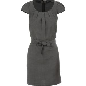 Alchemy Equipment Linen Blend Pleat Front Dress - Women's