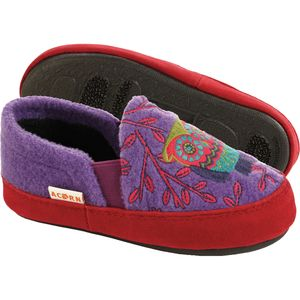 Acorn Colby Gore Moc Slipper - Girls'