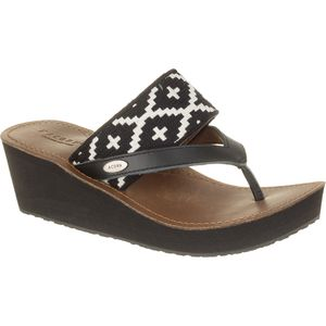 Acorn ArtWalk Leather Wedge Sandal - Women's