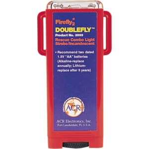 photo: ACR Firefly 2 Doublefly Rescue Combo Light paddling light