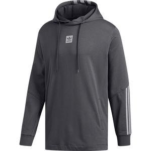 아디다스 Adidas Cornered Hoodie - Mens,Dgh Solid Grey/Light Granite