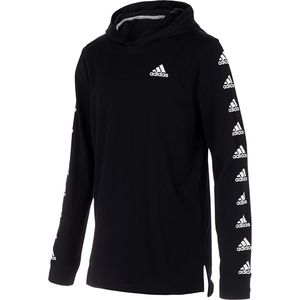 AdidasHooded Bos Sleeve T-Shirt - Boys'