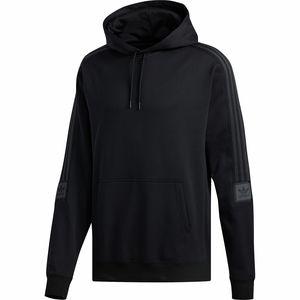 아디다스 Adidas Tech Hoodie - Mens,Black/Carbon