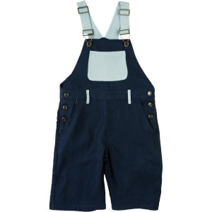 A For Apple Limited Double Tencel Dungaree - Boys'