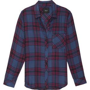 Rails Hunter Raspberry/Royal/Black Long-Sleeve Button Up - Women's