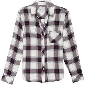 Rails Hunter Plum/Navy/White Long-Sleeve Button Up - Women's