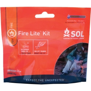 Adventure Medical SOL Fire Lite & Tinder-Quik