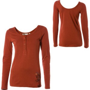 Arbor Lowback Henley - Long-Sleeve - Womens