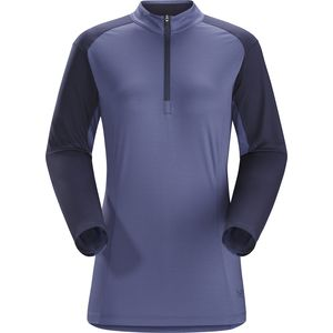 Arc'teryx Skeena Zip-Neck Shirt - Long-Sleeve - Women's