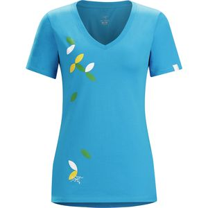 Arc'teryx Flutter V-Neck T-Shirt - Short-Sleeve - Women's