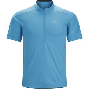 Arc'teryx Velox Zip-Neck Shirt - Short-Sleeve - Men's
