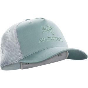 Arc'teryx Logo Trucker Hat - Mens,Petrikor/Dew Drop