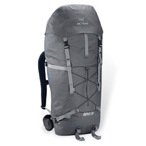 photo: Arc'teryx Acrux 50 weekend pack (3,000 - 4,499 cu in)