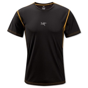 Arcteryx Velox Crew Neck Shirt - Short-Sleeve - Mens