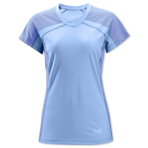 Arcteryx Velox Comp V-Neck Shirt - Short-Sleeve - Womens