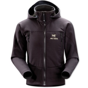 photo: Arc'teryx Gamma SV Hoody soft shell jacket