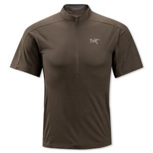 Arcteryx Velox Zip Neck Shirt - Short-Sleeve - Mens