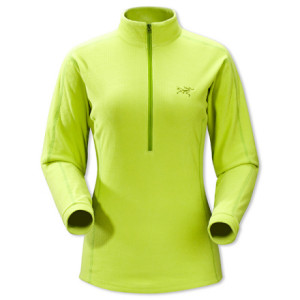 Arcteryx Delta LT Zip Fleece Pullover - Womens