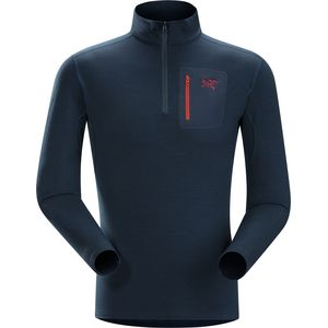Arc'teryx Rho LTW Zip-Neck Top - Long-Sleeve - Men's