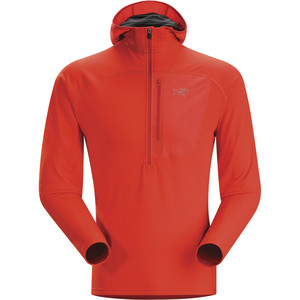 Arc'teryx Konseal 3/4-Zip Fleece Hoodie - Men's