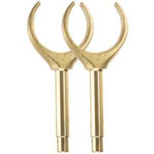 Aire Brass Oar Lock Pair