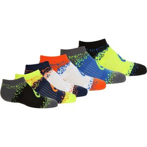 Asics Splatter No Show Socks - 6-Pair - Kids'